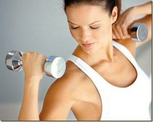 ejercicios para adelgazar brazos